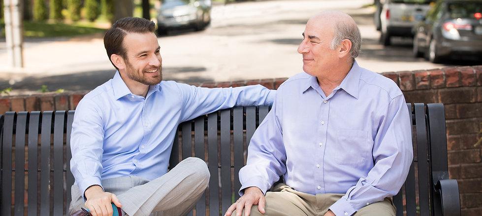 Mike Mariani and Alan Stiffelman