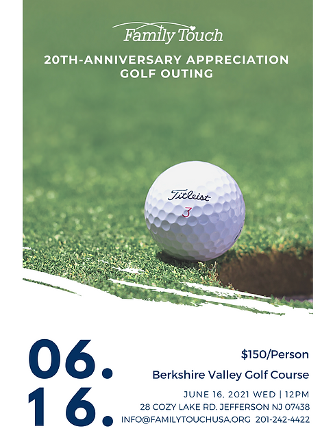 20th-anniversary appreciation golf outin