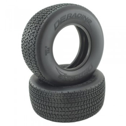 Grooved G6T D30/D40 Compound SC Oval Tire / With Inserts / 2Pcs.
