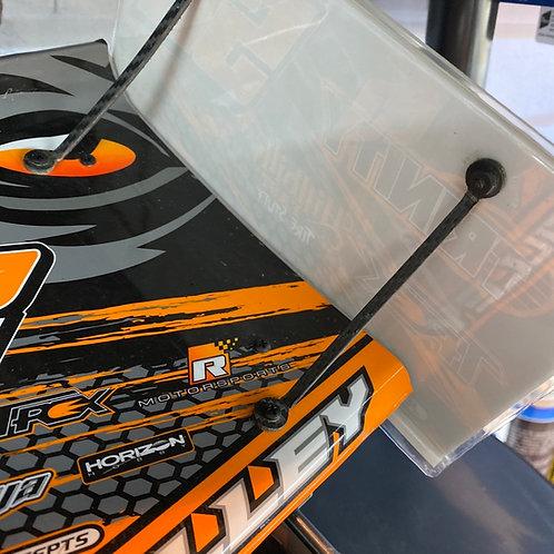 Carbon Kydex wing braces