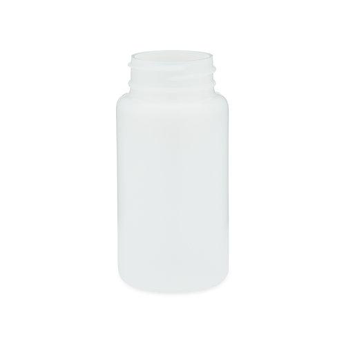 4 oz Natural Plastic Wide Mouth Bottles