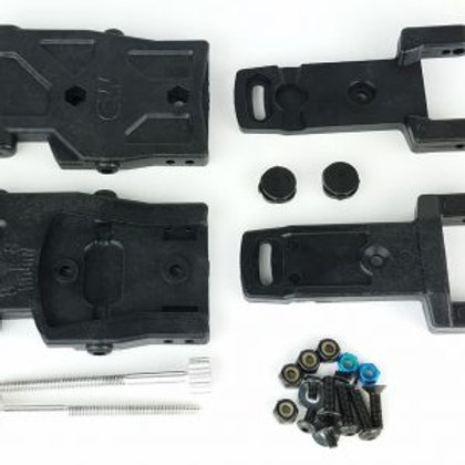 ADJUSTABLE TOE REAR ARM KIT – B6.1