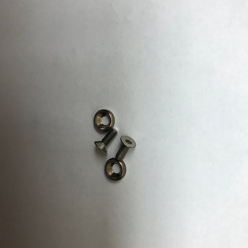 Motor screw and cone washers 8mm long