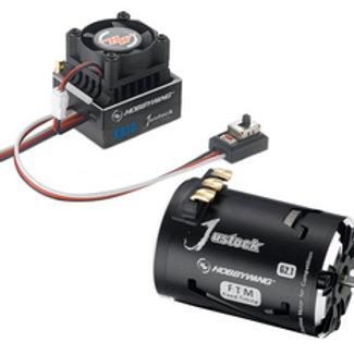 XR10 Justock ESC, w/ Justock 3650 SD G2.1 Sensored Brushless Motor (13.5 Turn)