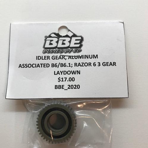 Associated B6/B6.1 Laydown Aluminum Gear
