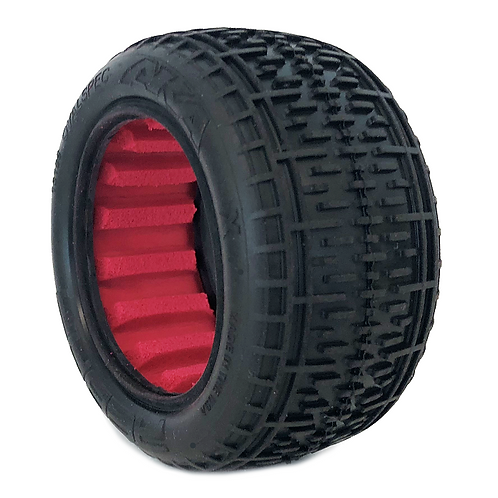 """AKA Rebar 2.2"""" Rear Buggy Tires (2) (Super Soft) with inserts"""