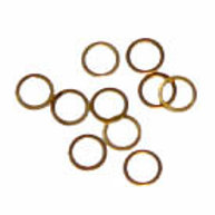 1/4 .020 Brass Rear Axle Shims (25)