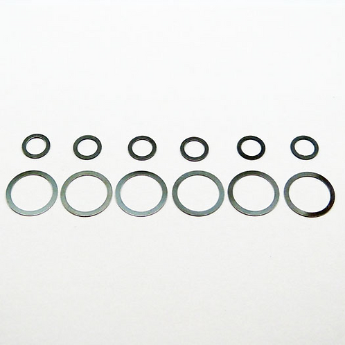 METRIC SHIM KIT 6 each of 5mm and 10mm