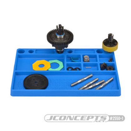 Rubber Parts Tray-Black