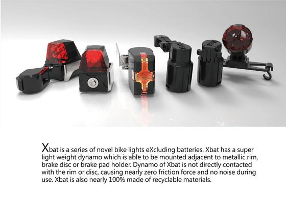 Xbat: Innovative, Award-winning Self-powered Bicycle Lights