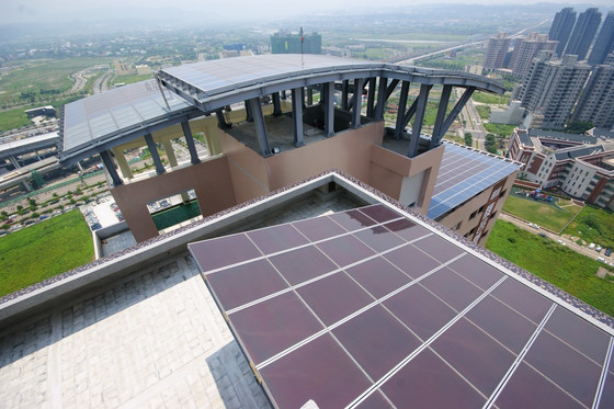 A stylish way to take advantages of the free resources NexPower introduces multifunctional PV thin-f