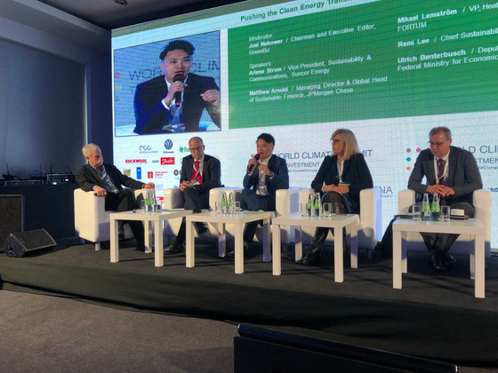 TCI Calls for Manufacturers to use Renewables at World Climate Summit