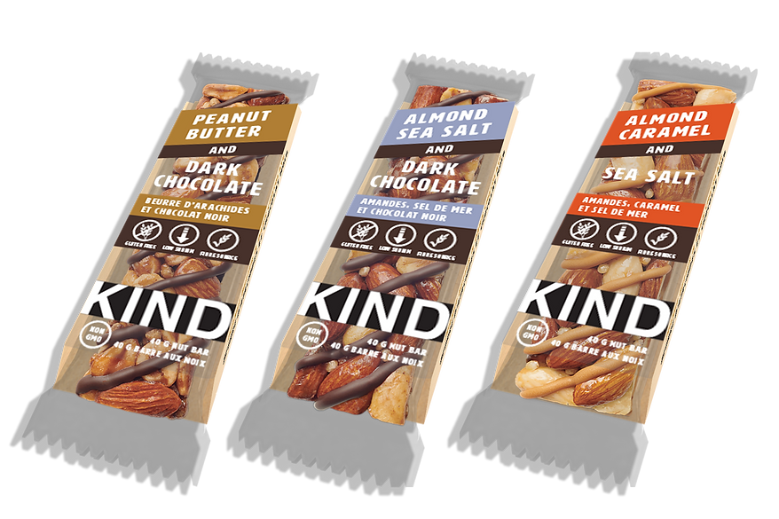 New Kind Bar Packaging for the Blind Braille Granola Bars