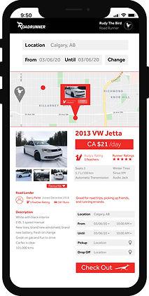 Road Runner app for mobile.