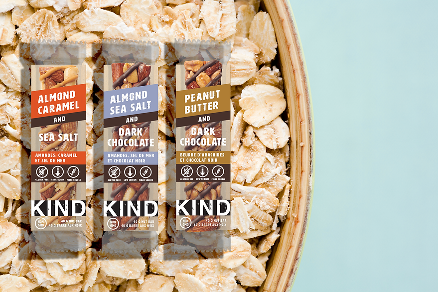 New Kind Bar Packaging for the Blind Braille Granola Bars.