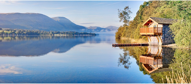 Morning Bright Ullswater Boathouse