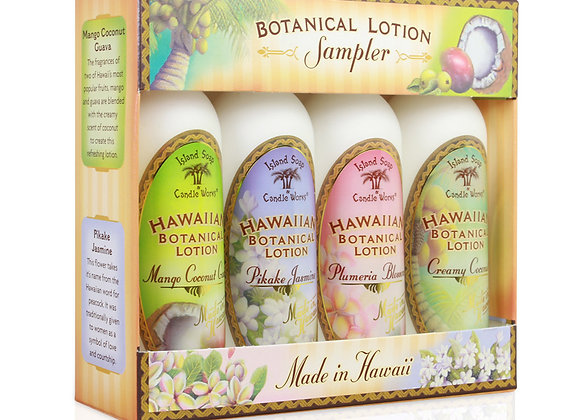 Botanical Lotion Sampler