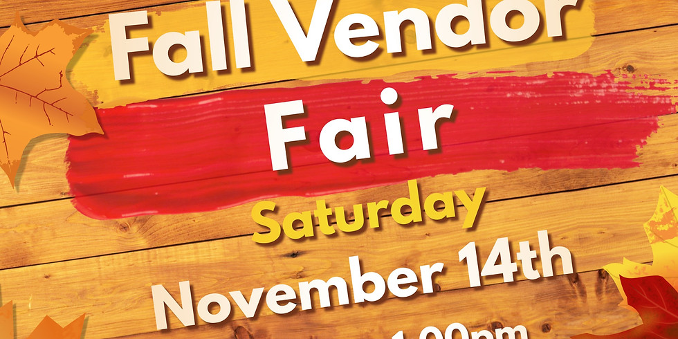 Fall Vendor Fair
