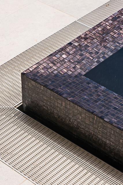 mosaico veneciano negro