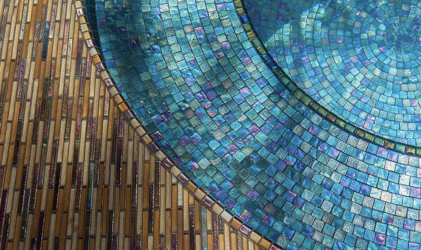 mosaico veneciano, albercas, recubrimientos