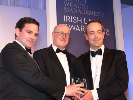 ByrneWallace Recognised for the their Outstanding Work Banking, Finance, Restructuring and Insolvenc