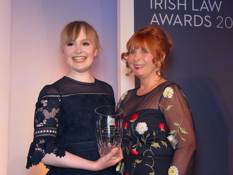 University College Cork Student, Claire Juliet Joyce, receives Law Student of the Year Award