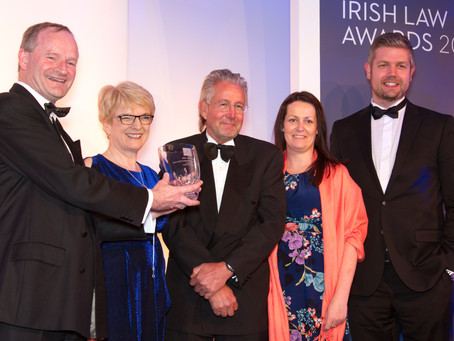 The Award for Excellence in Marketing and Communications goes to Dillon Solicitors of Dublin