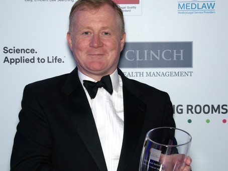 Keith Walsh of Keith Walsh Solicitors who Won the Family Law Firm - Lawyer of the Year Award