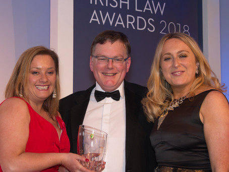 The Judicial Review Team of the Chief State Solicitors Office received the Public Sector Law Firm -