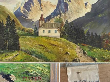 Mystery - Painting - Treasure?