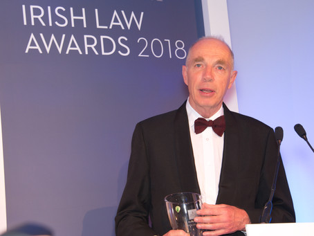 Micheal Irvine Receives the Special Merit Award
