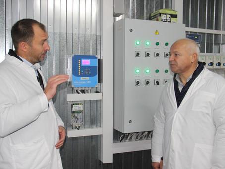 11 октября глава городского округа Шаховская Замир Гаджиев посетил наш птицекомплекс.