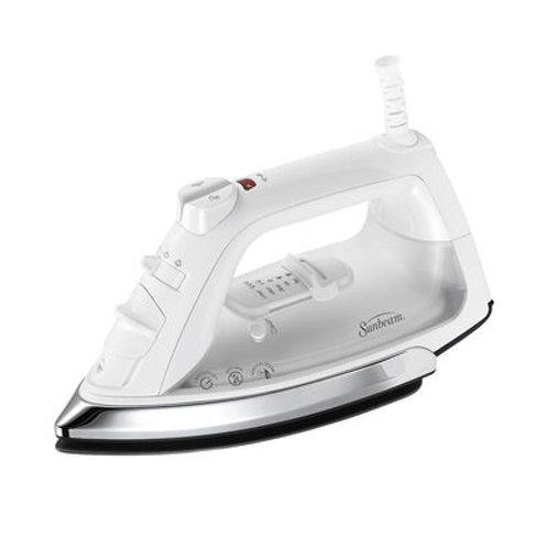 Sunbeam® Classic Iron, White & Chrome