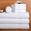 Thumbnail: Hand Towel - 100% Cotton - White