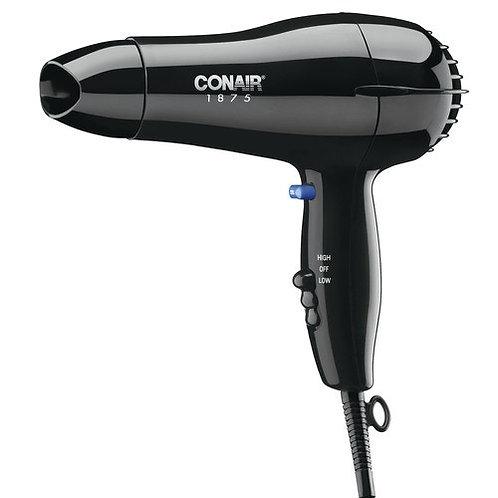 Conair Compact Hair Dryer, 1,875 Watt, Black