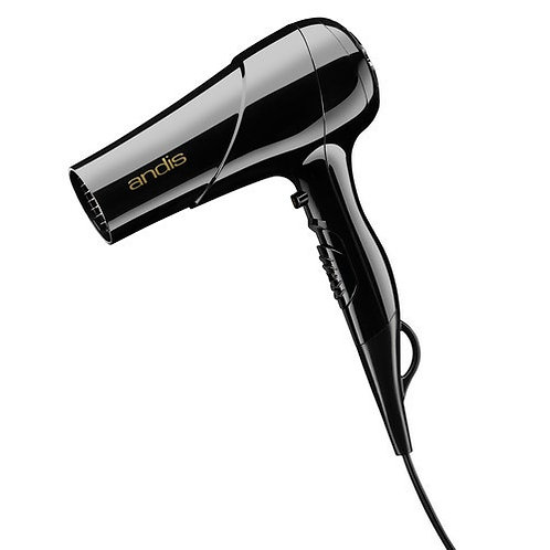 Andis Mid-Size Hair Dryer, Hand Held, Black