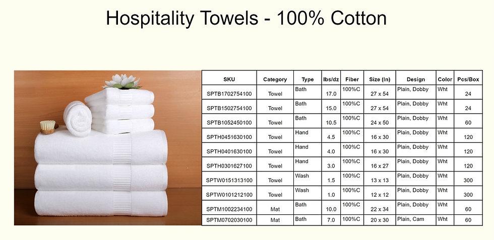 Hospitality Towels - 100% Cotton.jpg