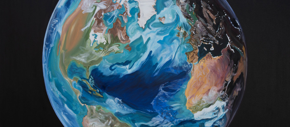 Rubina Anjum: The Planet Earth Series: Art, technology and the beauty of the natural world