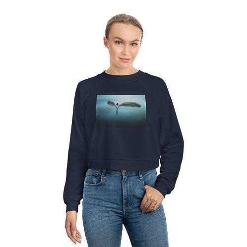 Women's Raglan Pullover Fleece Sweatshirt