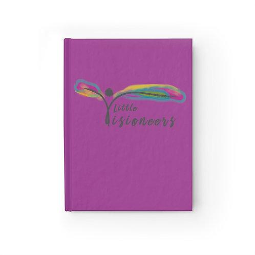 LV Purple Journal - Blank