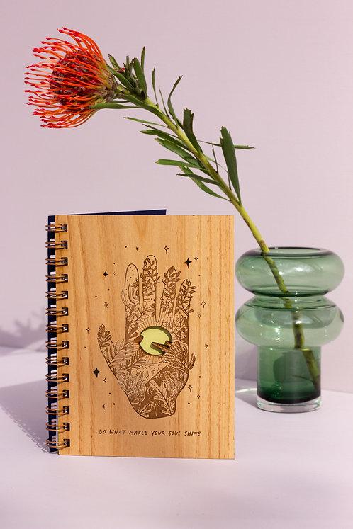 Soul Shine Wood Journal