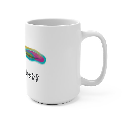 LV White Mug 15oz