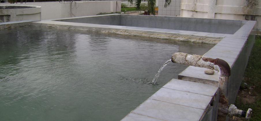Healing waters at Usha