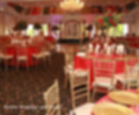 red, flowers and decor, centerpieces, wedding, venue, photography, catering, event planner, Rieken Weddings 9548227273
