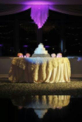 wedding cake, cake table, white linens, wedding, venue, photography, catering, event planner, Rieken Weddings 9548227273