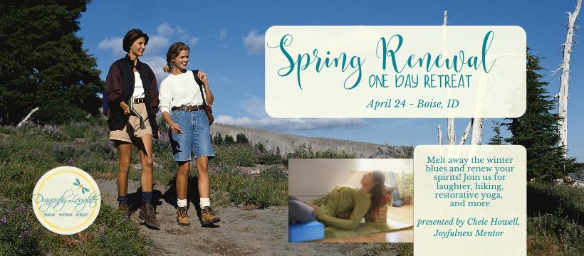 Spring Renewal One Day Urban Retreat