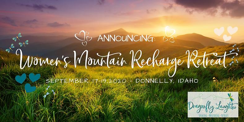 Women's Mountain Recharge Retreat Eventb