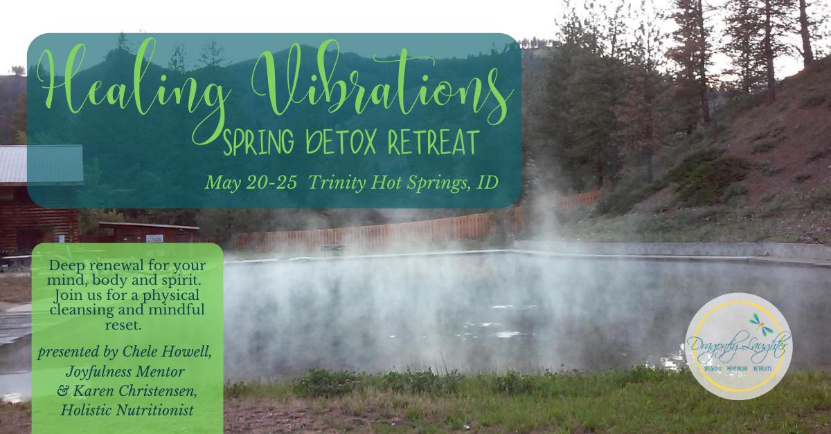 Healing Vibrations Spring Detox Retreat