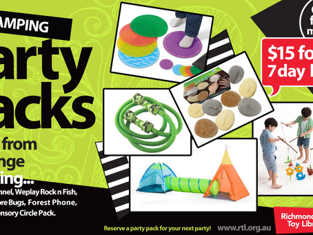 Camping Party Pack Games
