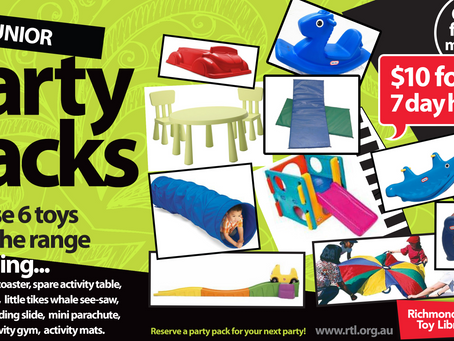 Junior Party Pack Games